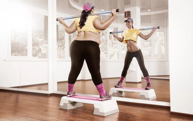 Похудеть перед занятиями фитнесом