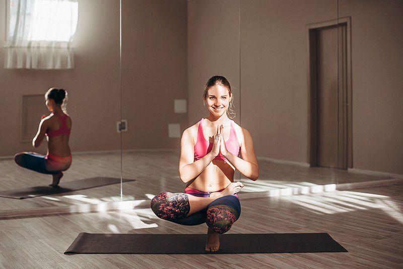 Бикрам йога и похудение